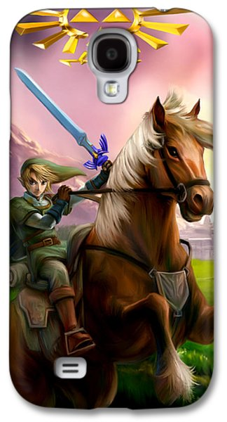 Legend Of Zelda- Link And Epona Galaxy S4 Case