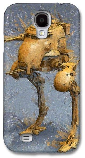 Legged Battlebot - Pa Galaxy S4 Case by Leonardo Digenio