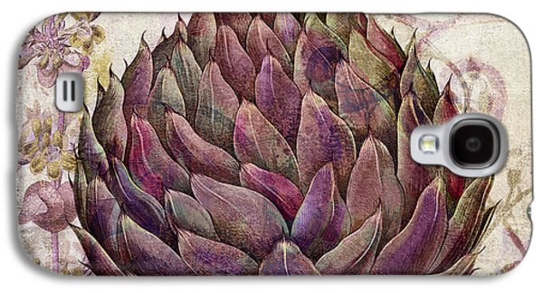 Legumes Francais Artichoke Galaxy S4 Case by Mindy Sommers