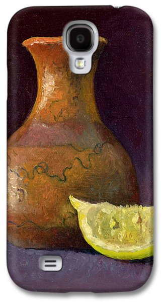 Lemon And Horsehair Vase A First Meeting Galaxy S4 Case