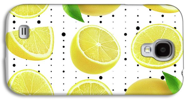 Lemon  Galaxy S4 Case by Mark Ashkenazi