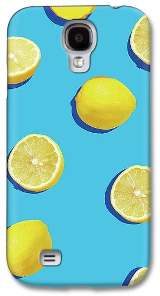 Lemon Pattern Galaxy S4 Case by Rafael Farias
