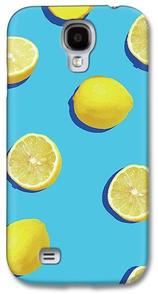 Lemon Pattern Galaxy S4 Case