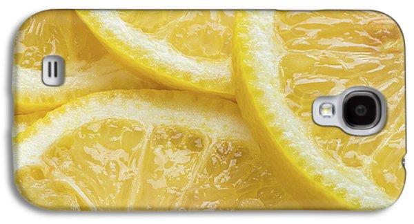 Lemon Slices Number 3 Galaxy S4 Case by Steve Gadomski