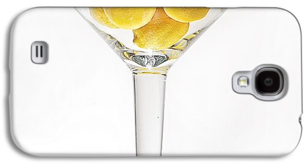 Abstract Digital Art Galaxy S4 Cases - Lemons Galaxy S4 Case by Jay Hooker