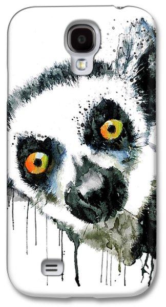 Lemur Head  Galaxy S4 Case
