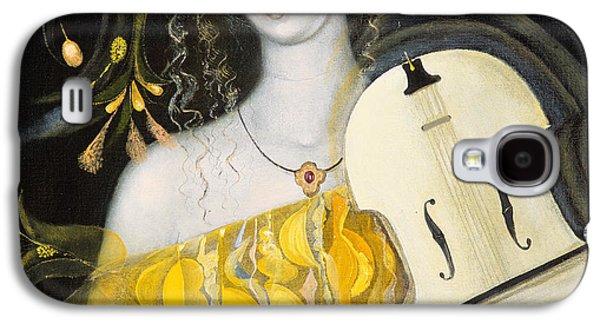 Violin Galaxy S4 Case - Leo by Annael Anelia Pavlova