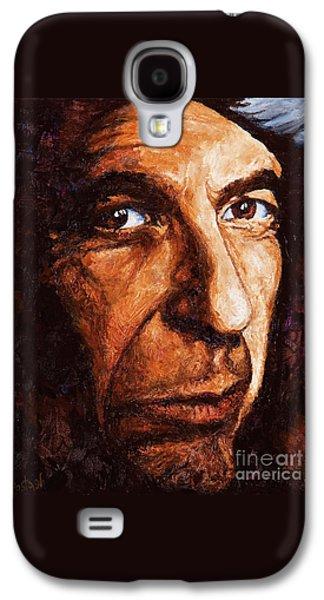 Leonard Cohen Galaxy S4 Case