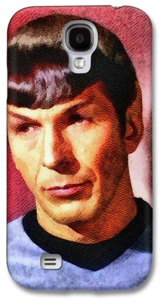 Leonard Nimoy, Actor Galaxy S4 Case