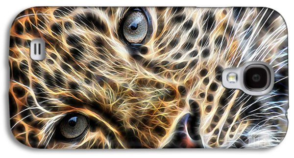 Leopard Galaxy S4 Case by Marvin Blaine