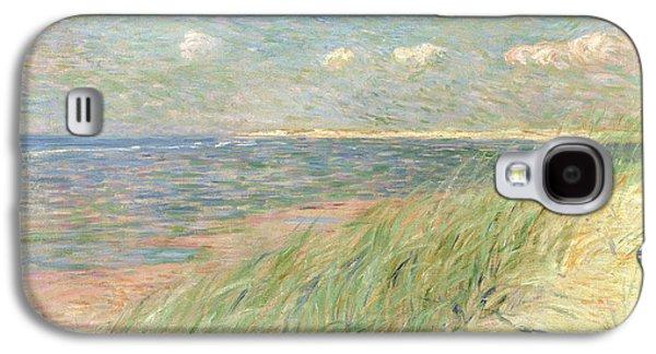 Les Dunes Du Zwin Knokke Galaxy S4 Case by Theo van Rysselberghe