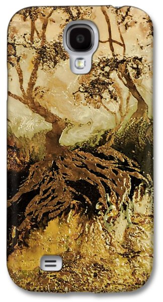Les Feuillus  Galaxy S4 Case by Janine Boudreau