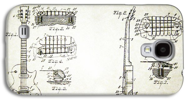 Les Paul Guitar Patent 1955 Galaxy S4 Case
