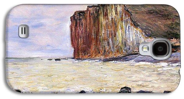 Ocean Shore Galaxy S4 Cases - Les Petites Dalles Galaxy S4 Case by Claude Monet