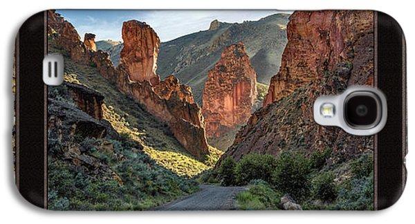 Leslie Gulch Triptych Galaxy S4 Case