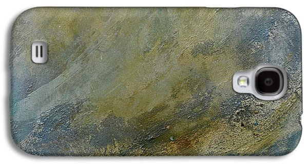 Silver Turquoise Galaxy S4 Case - Let The Dry Earth Appear by Laurie Hein