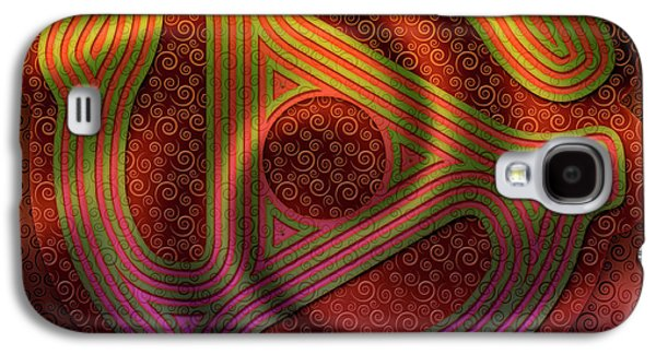 Let The Music Play Galaxy S4 Case