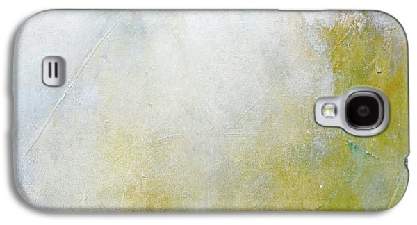 Silver Turquoise Galaxy S4 Case - Let There Be Light by Laurie Hein