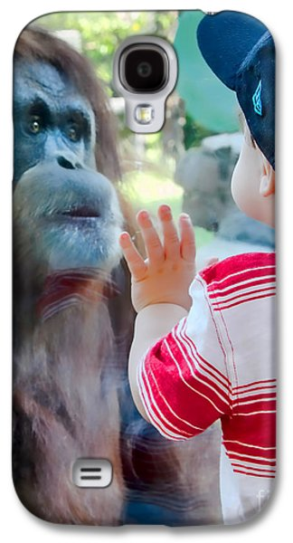 Let's Be Friends Galaxy S4 Case by Keith Ducker