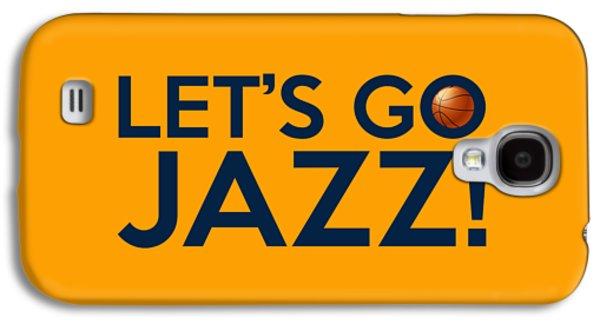 Let's Go Jazz Galaxy S4 Case by Florian Rodarte