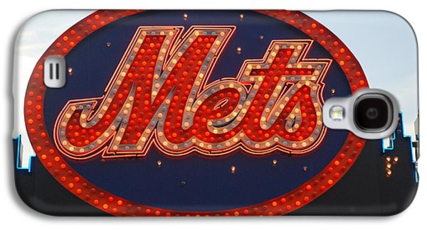 New York Mets Galaxy S4 Case - Lets Go Mets by Richard Bryce and Family