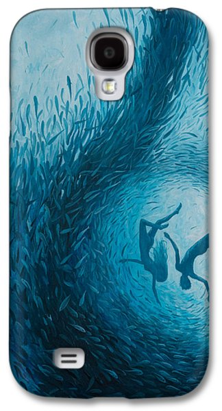 Let's Never Stop Falling In Love Galaxy S4 Case