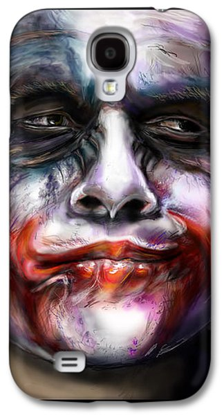 Heath Ledger Galaxy S4 Case - Let's Put A Smile On That Face by Vinny John Usuriello