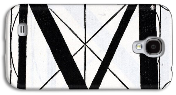Letter M Galaxy S4 Case