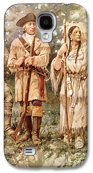 Lewis And Clark With Sacagawea Galaxy S4 Case