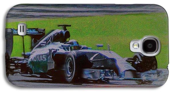Lewis Hamilton Galaxy S4 Case by Marvin Spates