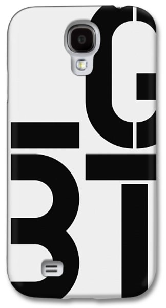 Lgbt Galaxy S4 Case by Three Dots