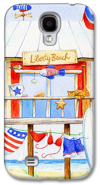 Liberty Beach Galaxy S4 Case by Laura Nikiel