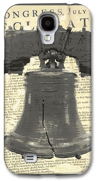 Liberty Bell Galaxy S4 Case by Brandi Fitzgerald