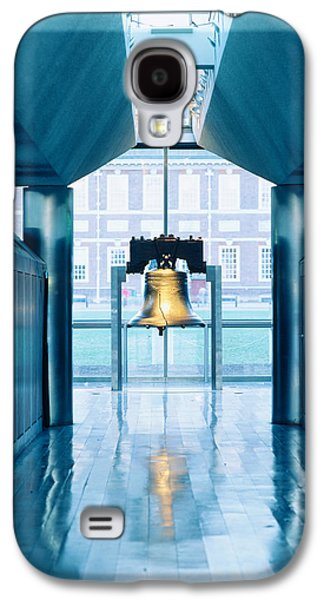 Liberty Bell Hanging In A Corridor Galaxy S4 Case by Panoramic Images