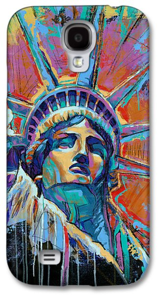 Liberty In Color Galaxy S4 Case by Damon Gray