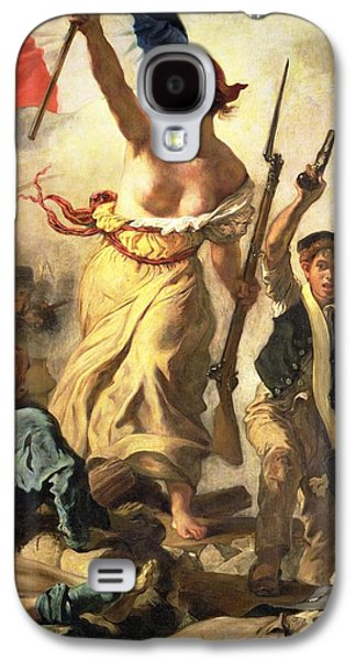 Liberty Leading The People Galaxy S4 Case by Ferdinand Victor Eugene Delacroix