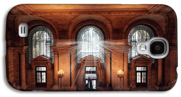 Library Entrance Galaxy S4 Case by Jessica Jenney