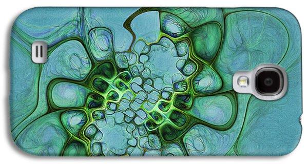 Life Channels Galaxy S4 Case by Deborah Benoit