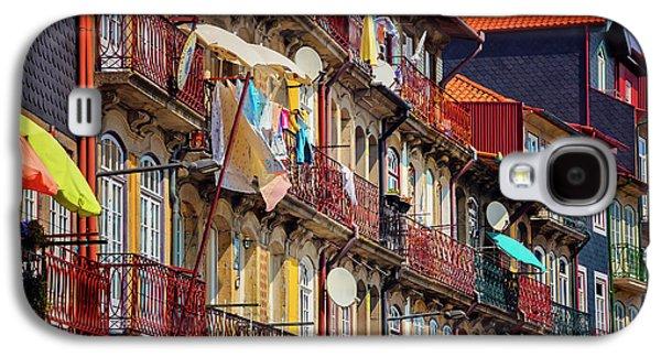 Life In Ribeira Porto  Galaxy S4 Case by Carol Japp