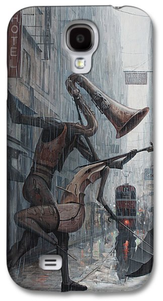 Life Is  Dance In The Rain Galaxy S4 Case by Adrian Borda