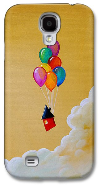 Life Of The Party Galaxy S4 Case by Cindy Thornton