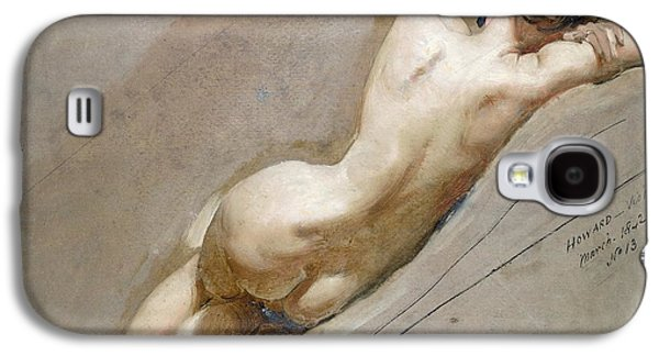 Life Study Of The Female Figure Galaxy S4 Case by William Edward Frost