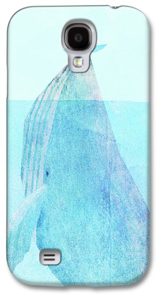 Whale Galaxy S4 Case - Lift Option by Eric Fan