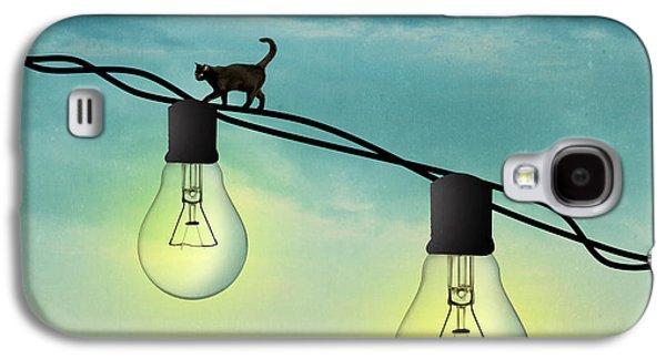 Light Bulb Galaxy S4 Case by Mark Ashkenazi