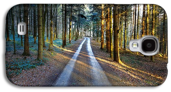 Light Path Crossing In The Woods Galaxy S4 Case