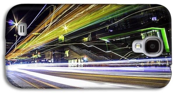 Light Trails 1 Galaxy S4 Case by Nicklas Gustafsson