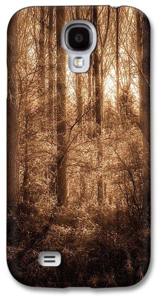 Light Trough The Forest Galaxy S4 Case by Wim Lanclus