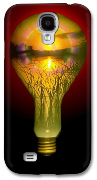 Lighthearted Sunset Galaxy S4 Case by Tim Allen