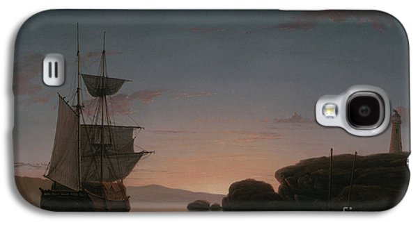 Lighthouse At Camden, Maine, 1851 Galaxy S4 Case