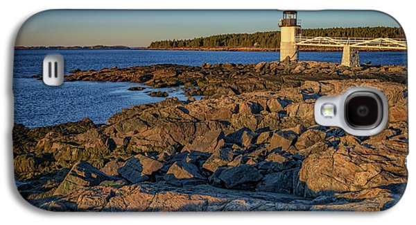 Lighthouse At Marshall Point Galaxy S4 Case by Rick Berk